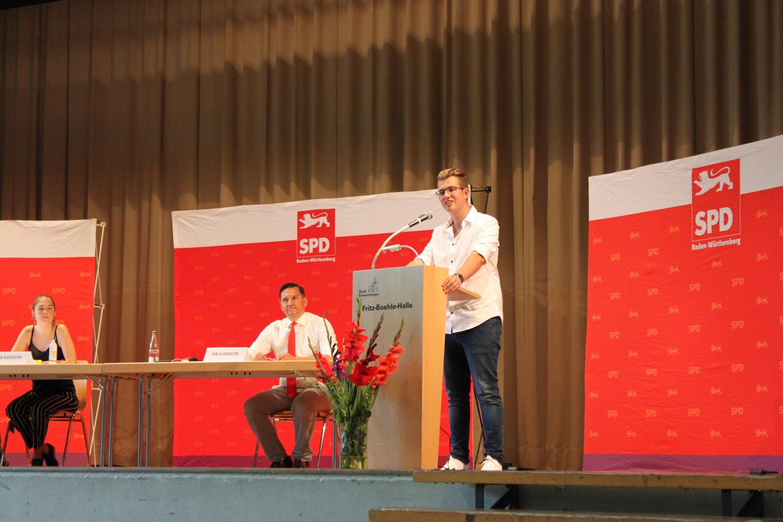 Pavlos Wacker, SPD-Ersatzkandidat Wahlkreis 49 Emmendingen, Landtagswahl 2021