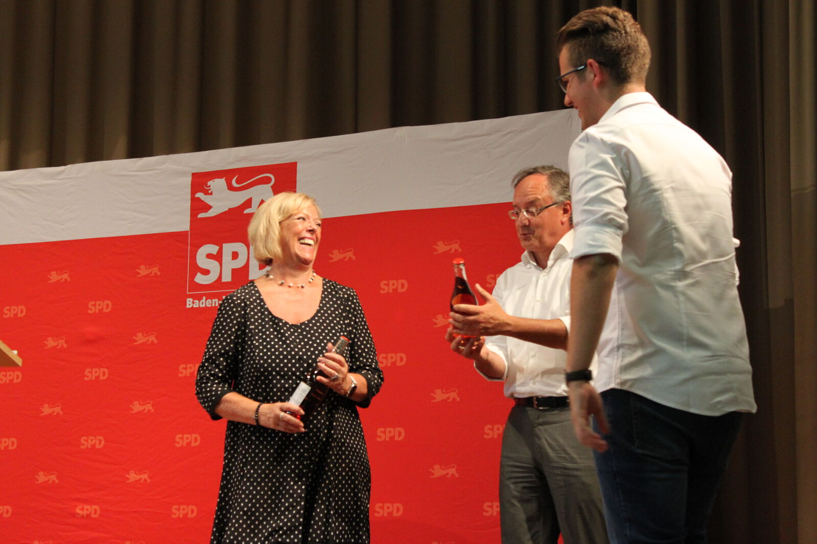v.l. Wölfle, Stoch, Wacker / Foto: Johann Krämer